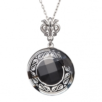 Magical Ornament - Colier de argint Preciosa (Black)